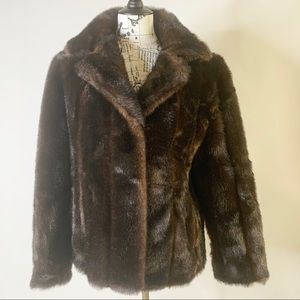 J.Percy for Marvin Richard's Faux Fur Jacket Large